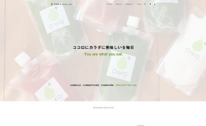 OMG! by doctor L.LAB / EC SHOP|サイトイメージ